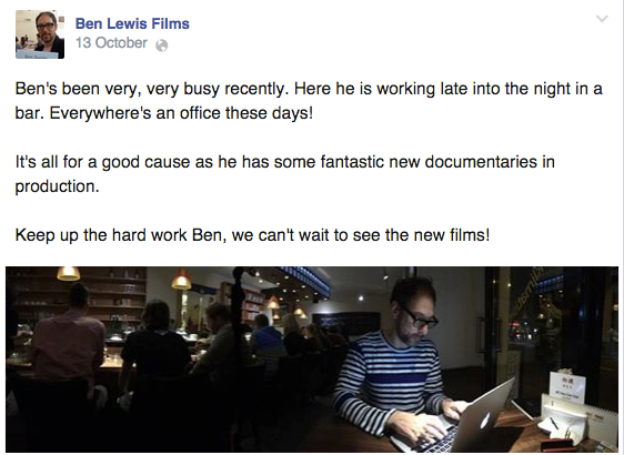 Keep Up To Date With All Things Ben Lewis Via Facebook 1