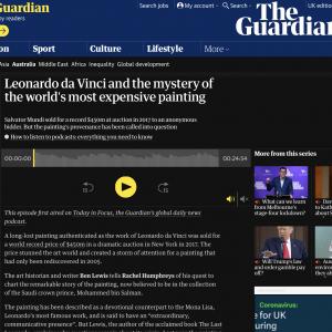 Last Leonardo Podcast for the Guardian 2